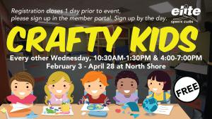 Crafty Kids - Elite North Shore - Winter 2021