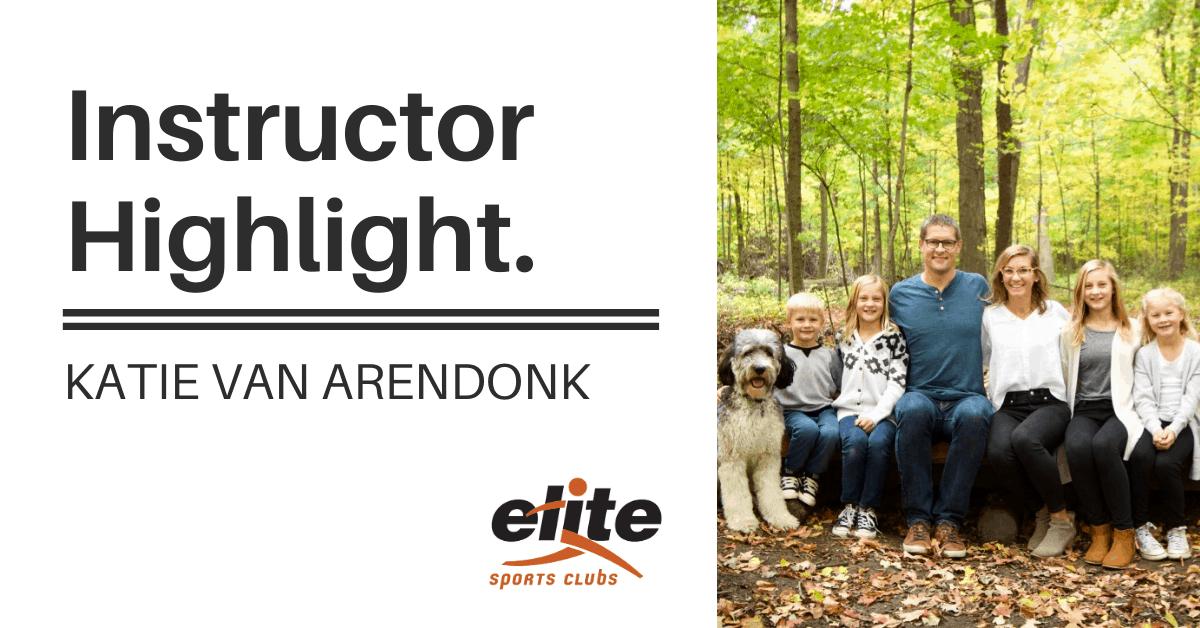 Instructor Highlight - Katie Van Arendonk