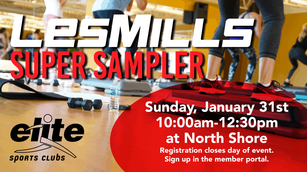Les Mills Super Sampler - Elite North Shore - January 2021