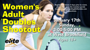 Womens Doubles Shootout - Elite West Brookfield - January 2021