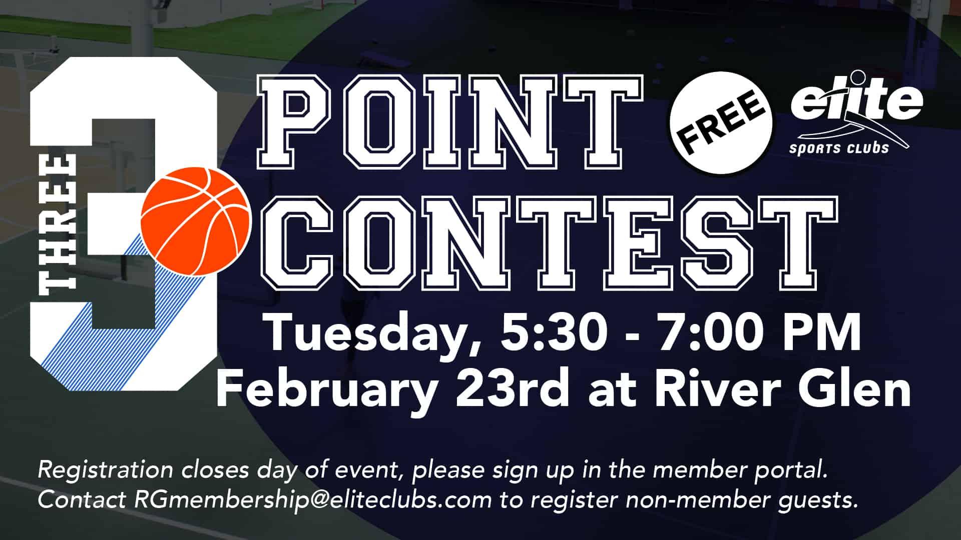 3 Point Contest - Elite River Glen - February 2021