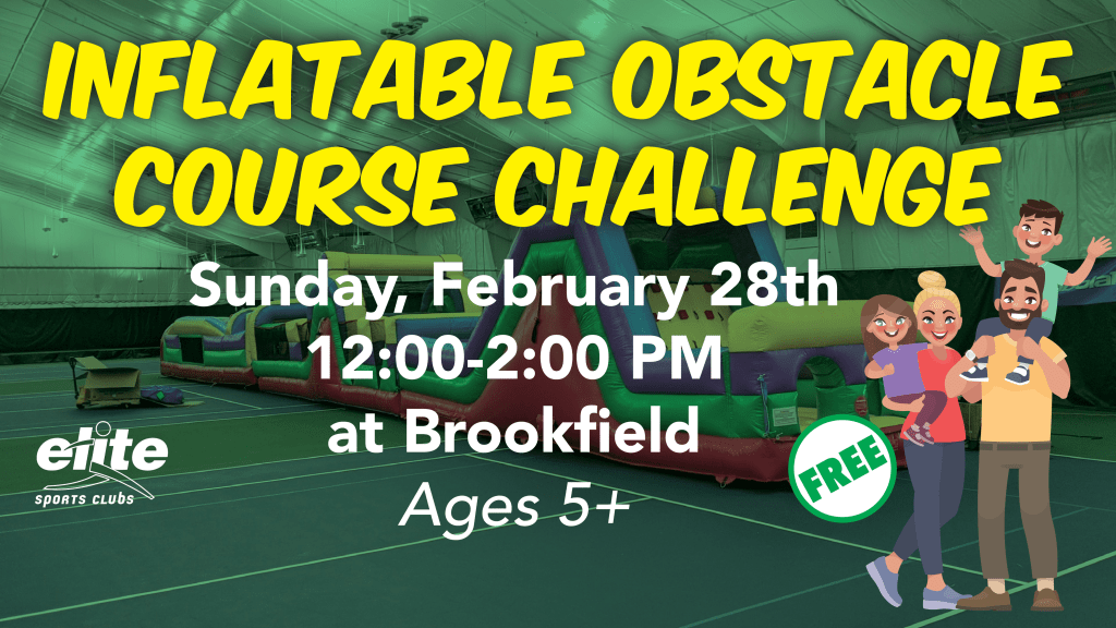 Inflatable Obstacle Course Challenge - Elite Brookfield - February 2021