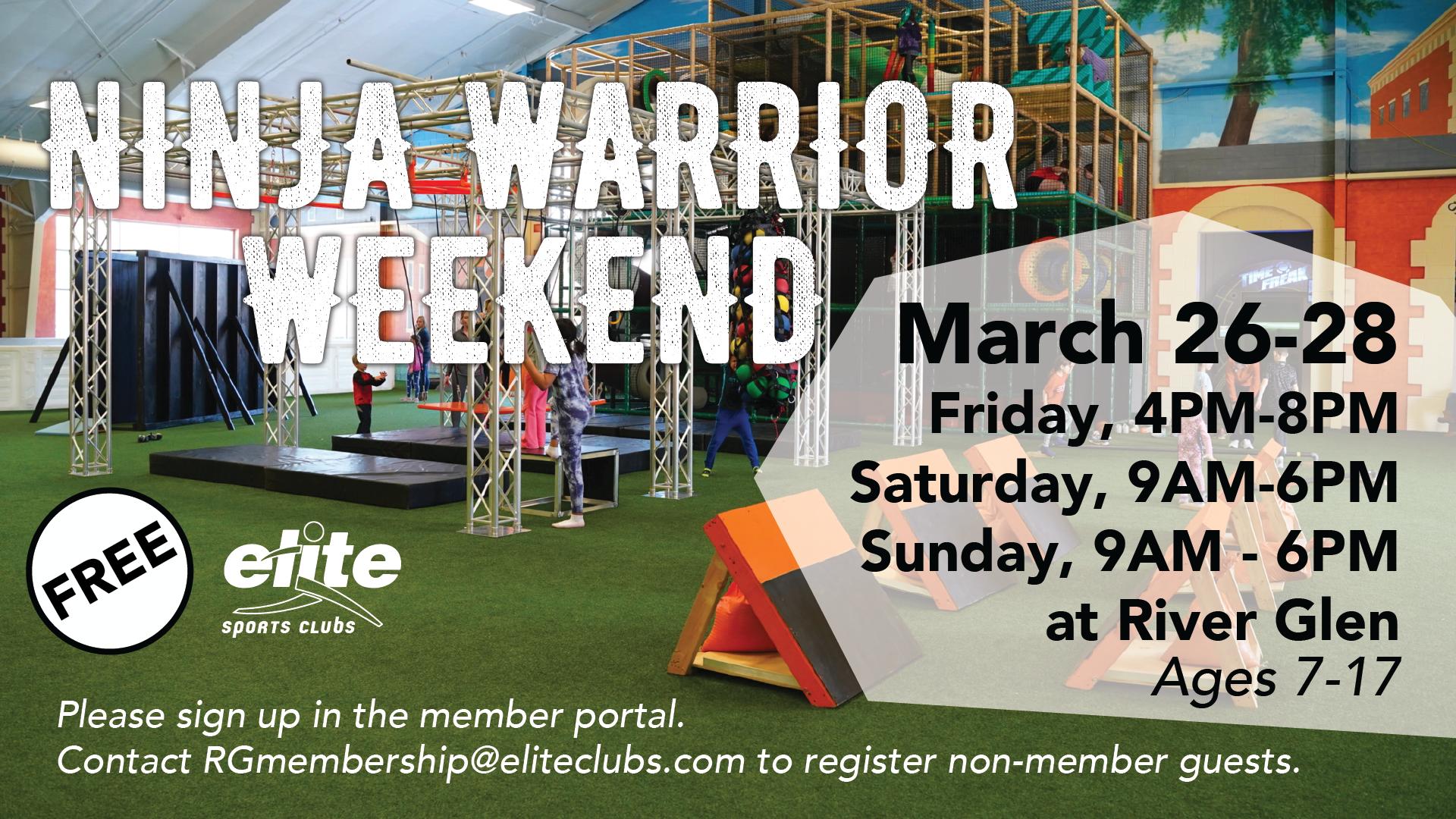 Ninja Warrior Weekend - Elite River Glen - March 2021
