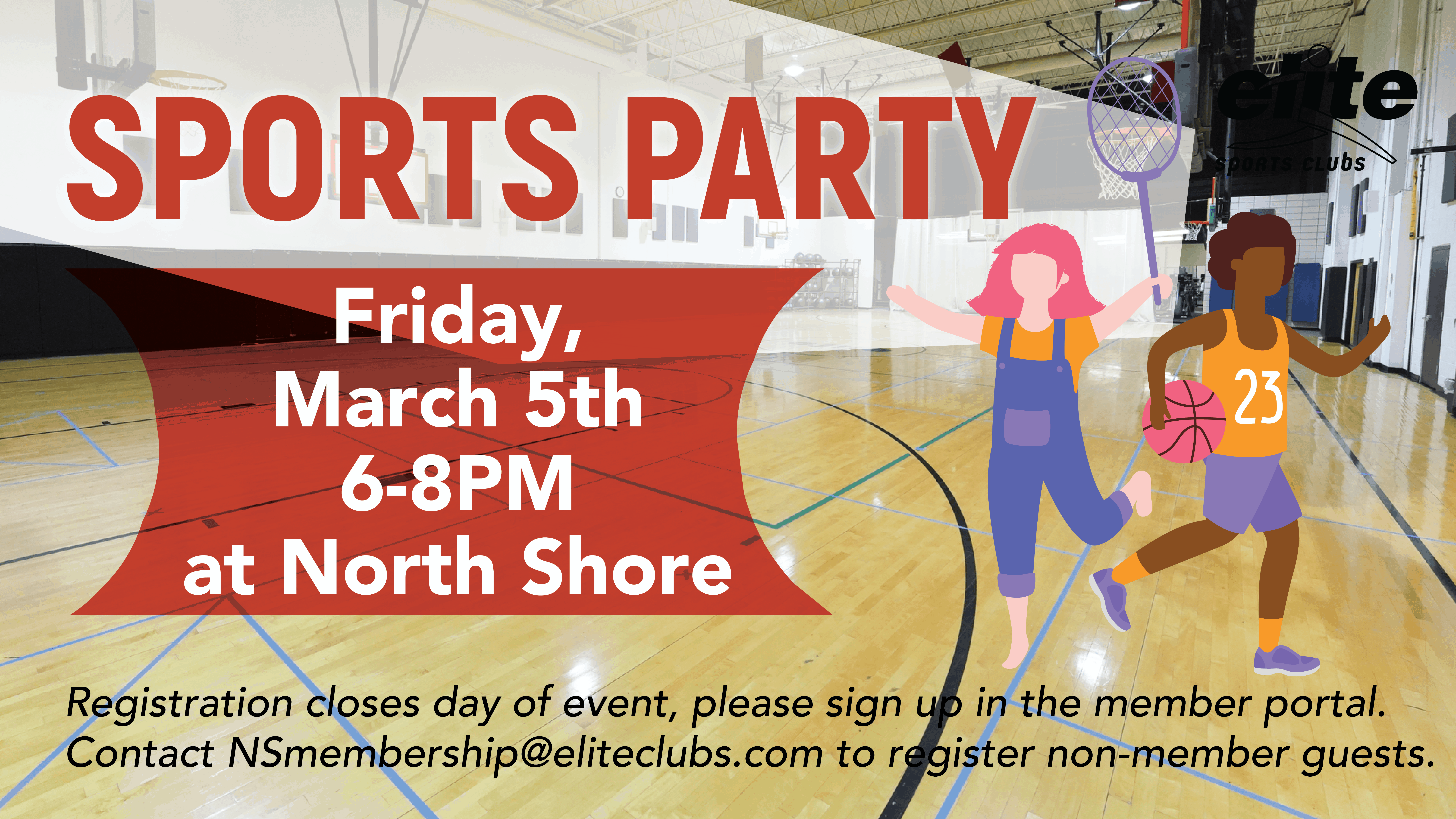 Sports Party - Elite North Shore - March 2021