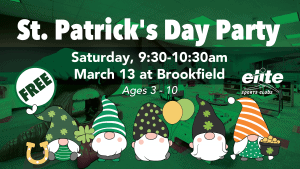 St Patricks Day Party - Elite Brookfield - March 2021