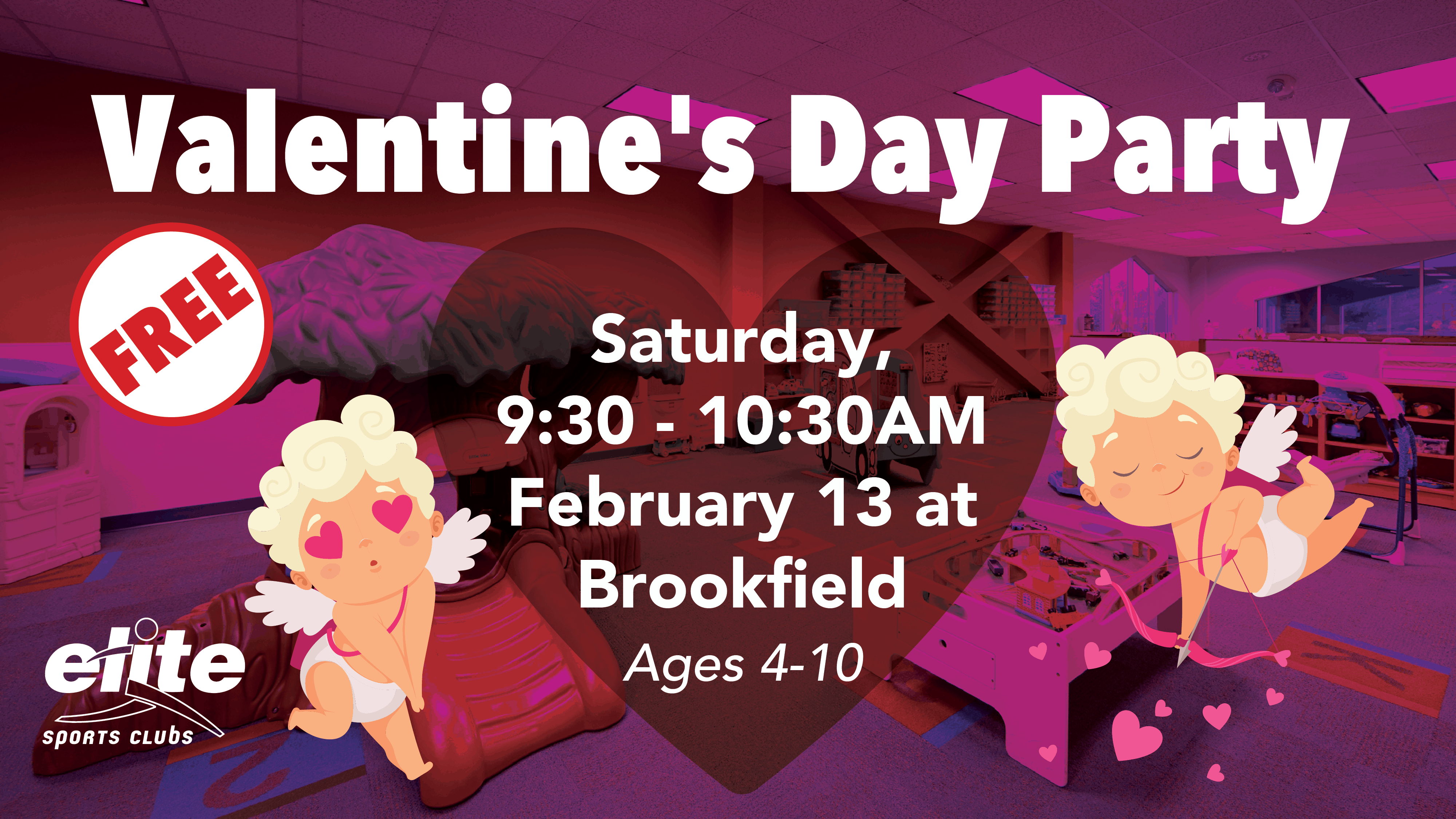 Valentines Day Party - Elite Brookfield - February 2021