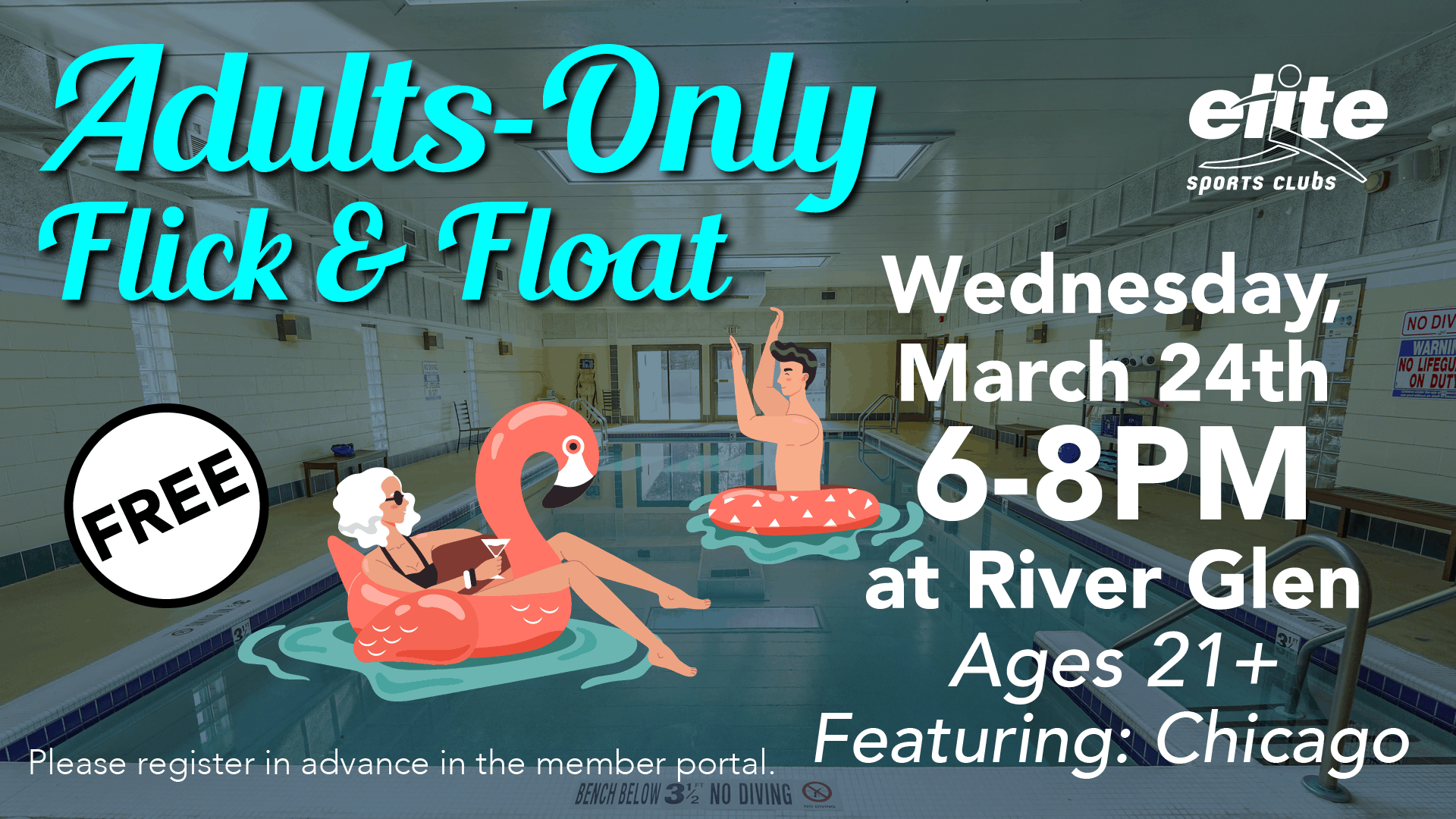Adults Only Flick and Float - Elite River Glen - March 2021