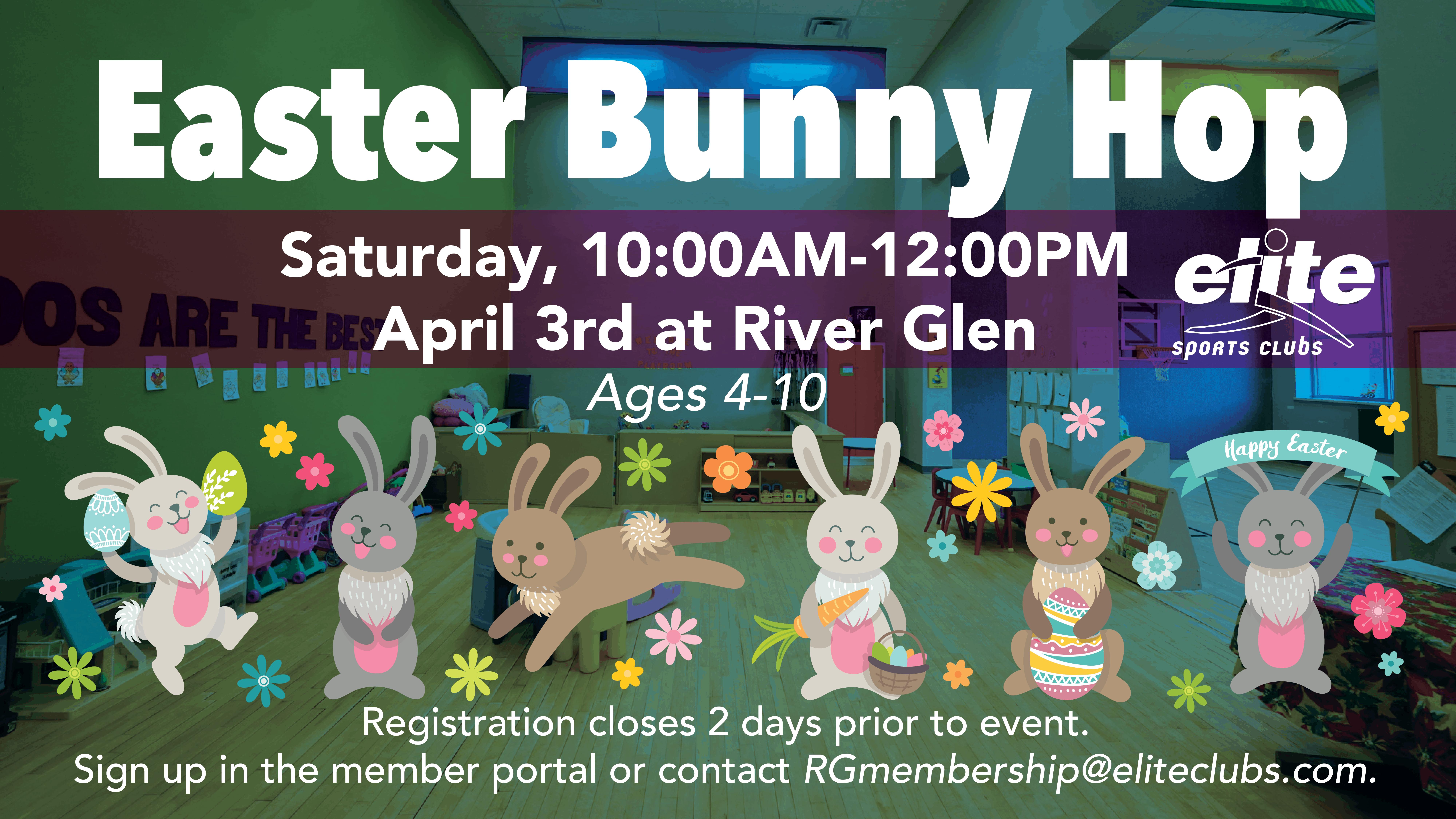 Easter Bunny Hop - Elite River Glen - April 2021