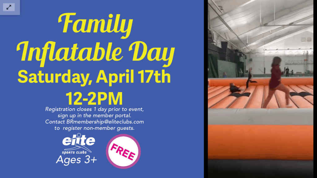 Family Inflatable Day - Elite Brookfield - April 2021