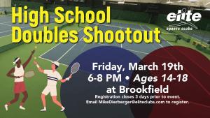 High School Doubles Shootout - Elite Brookfield - March 2021