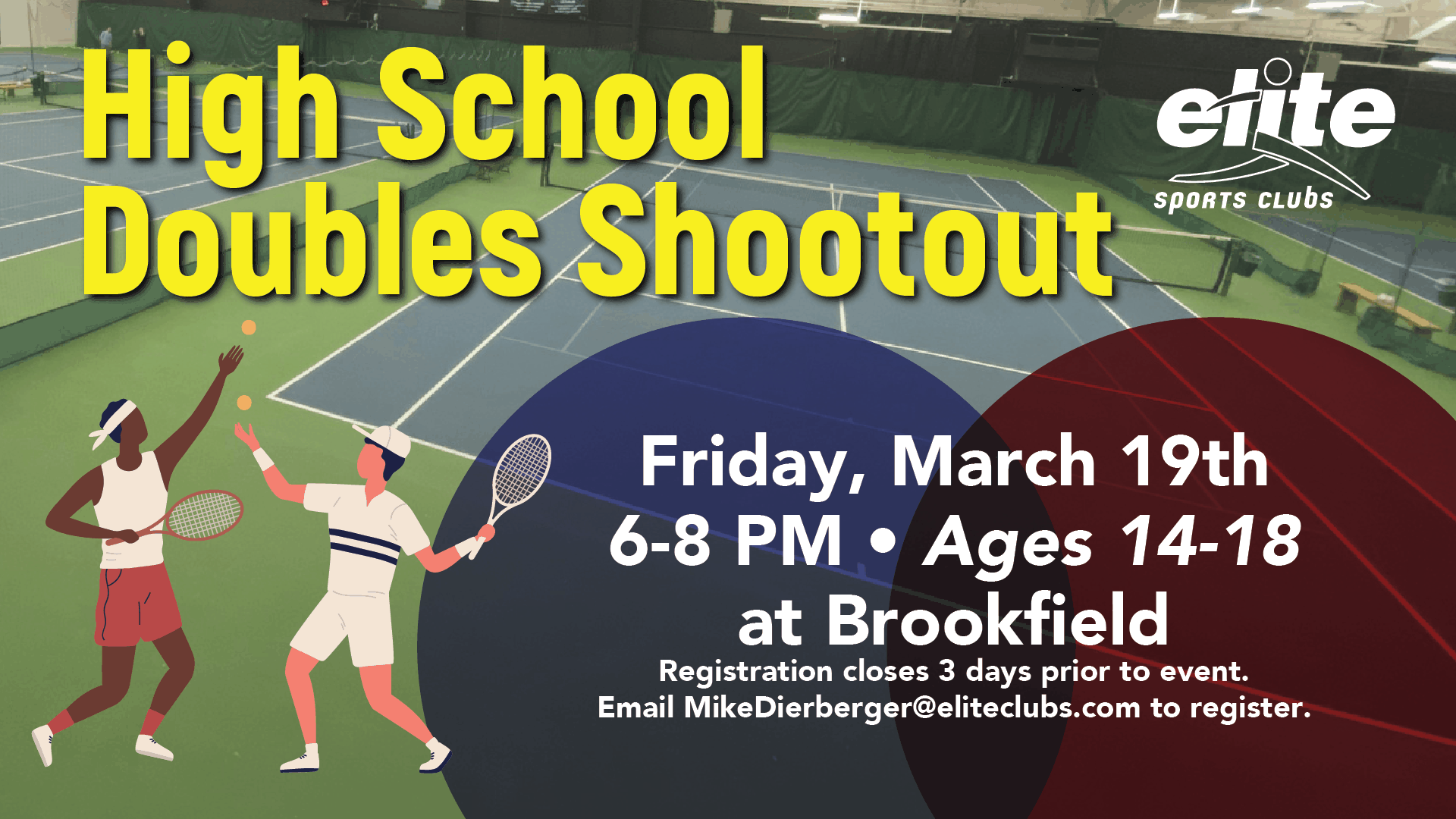 High School Doubles Shootout - Elite Brookfield - March 2021