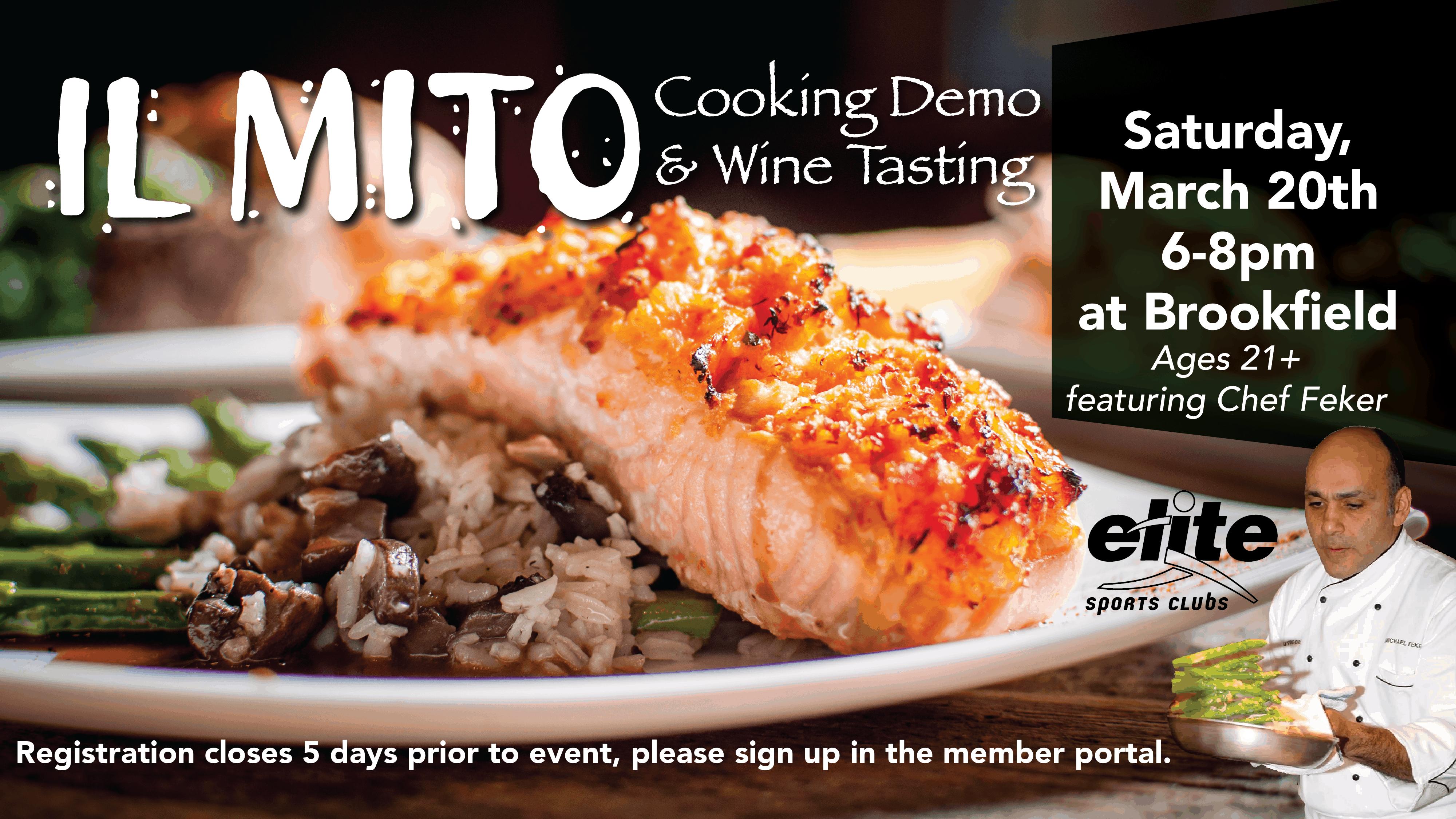 IL MITO Cooking Demo - Elite Brookfield - March 2021