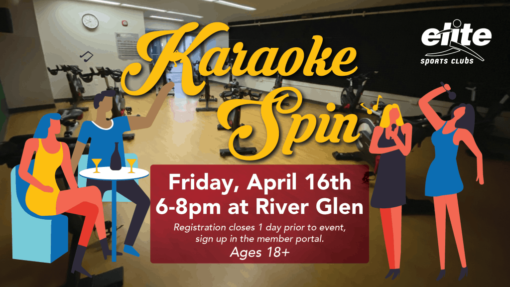 Karaoke Spin - Elite River Glen - April 2021