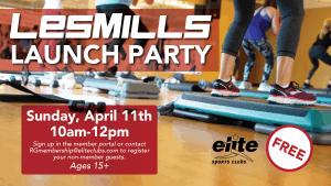Les Mills Launch Party - Elite River Glen - April 2021
