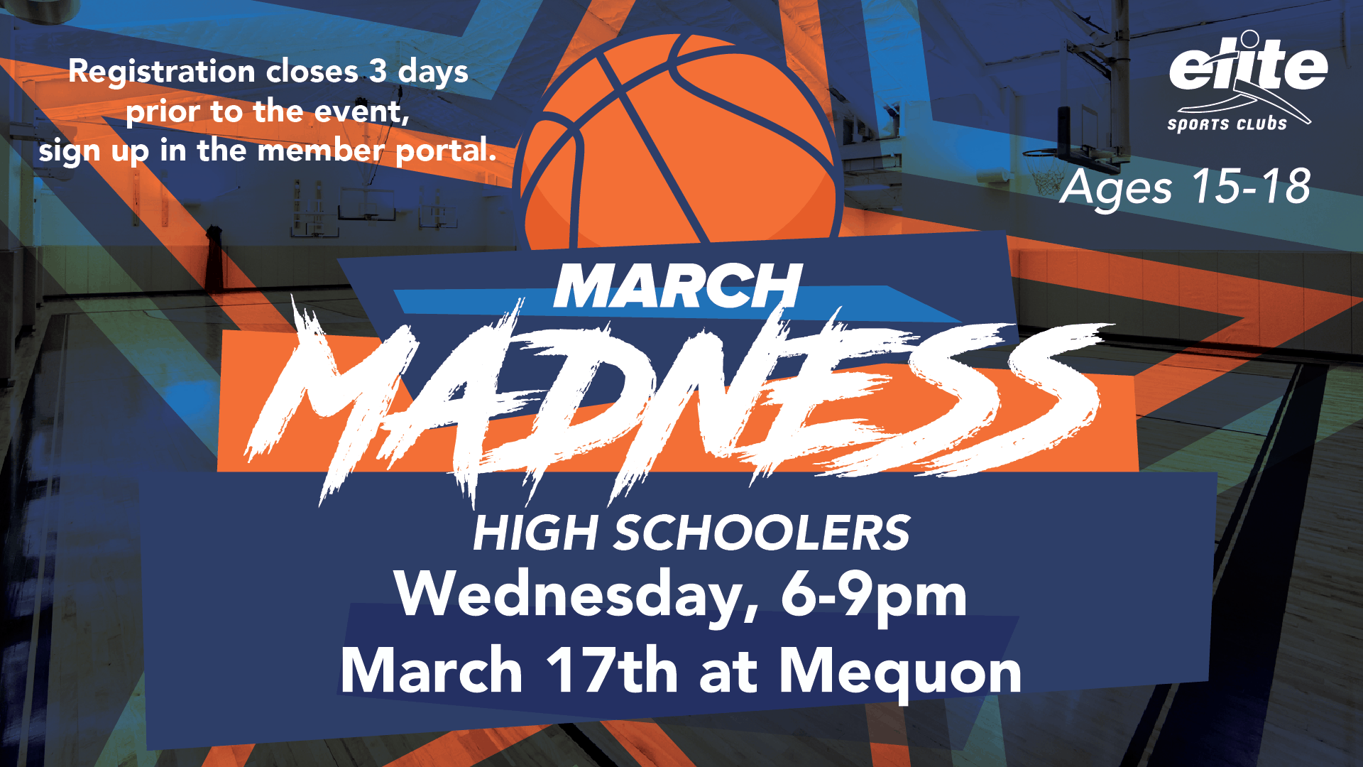 March Madness High Schoolers - Elite Mequon - March 2021