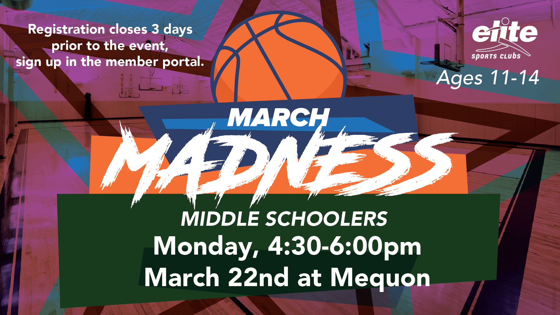 March Madness Middle Schoolers - Elite Mequon - March 2021