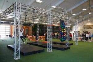 Ninja Warrior Course Setup