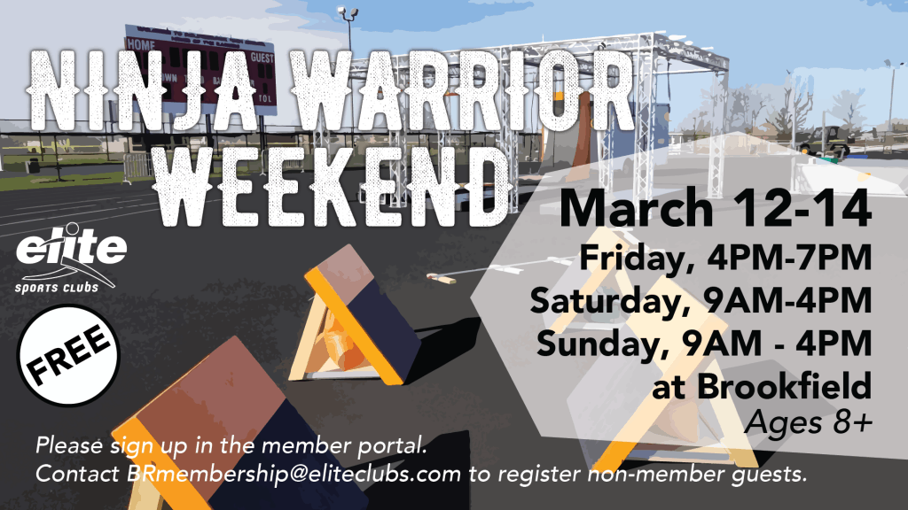 Ninja Warrior Weekend - Elite Brookfield - March 2021