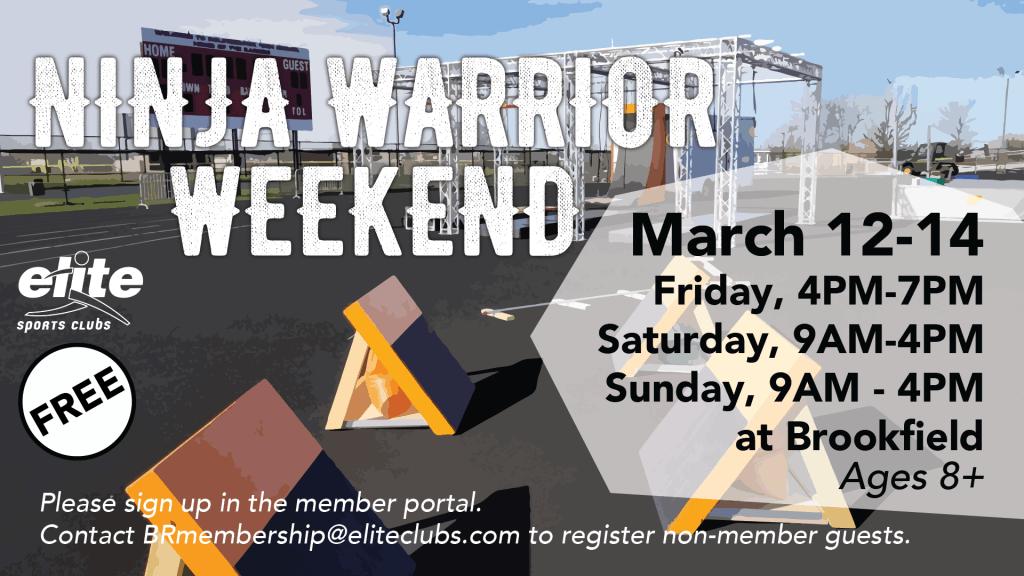 Ninja Warrior Weekend - Elite Brookfield - March 2021