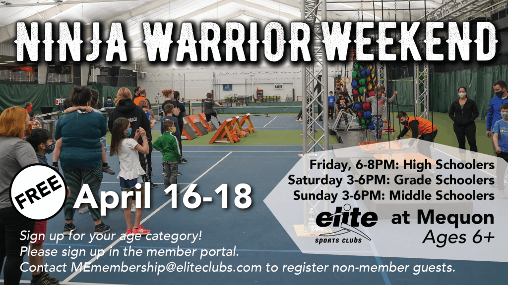 Ninja Warrior Weekend - Elite Mequon - April 2021