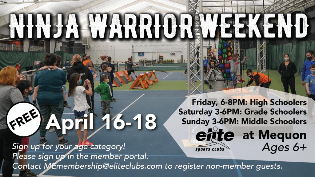 Ninja Warrior Weekend - Elite Mequon - April 2021
