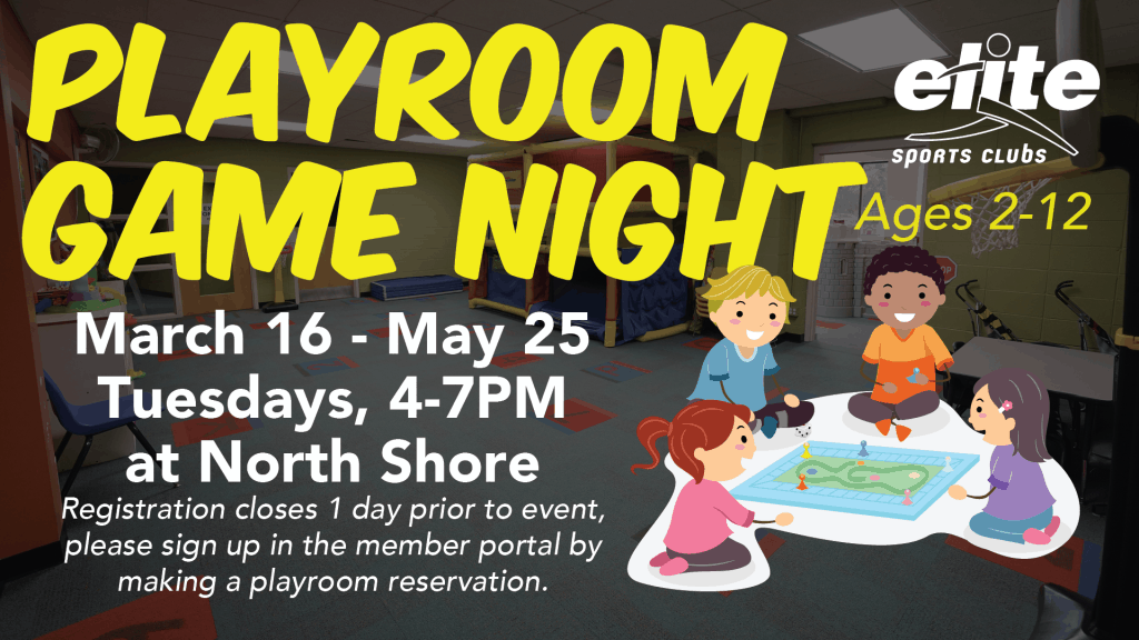 Playroom Game Night - Elite North Shore - Spring 2021
