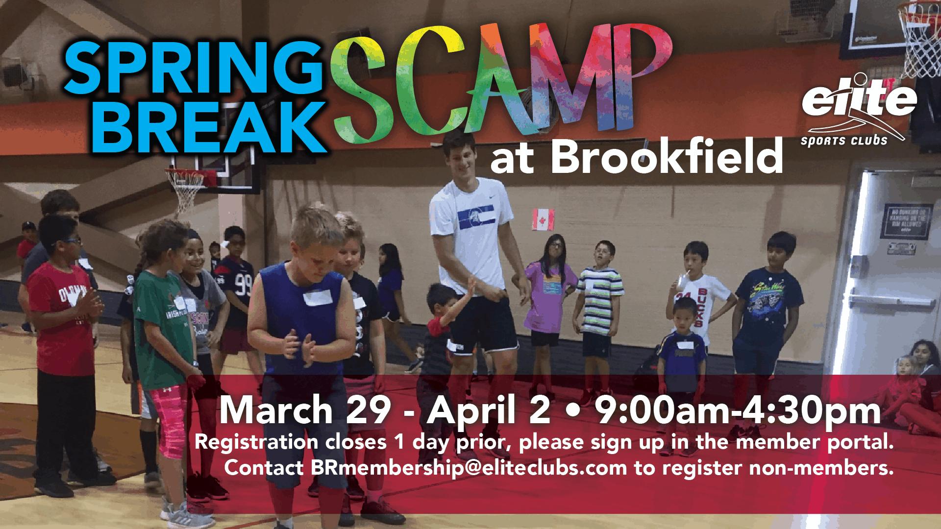 Spring Break Scamp - Elite Brookfield - March 2021