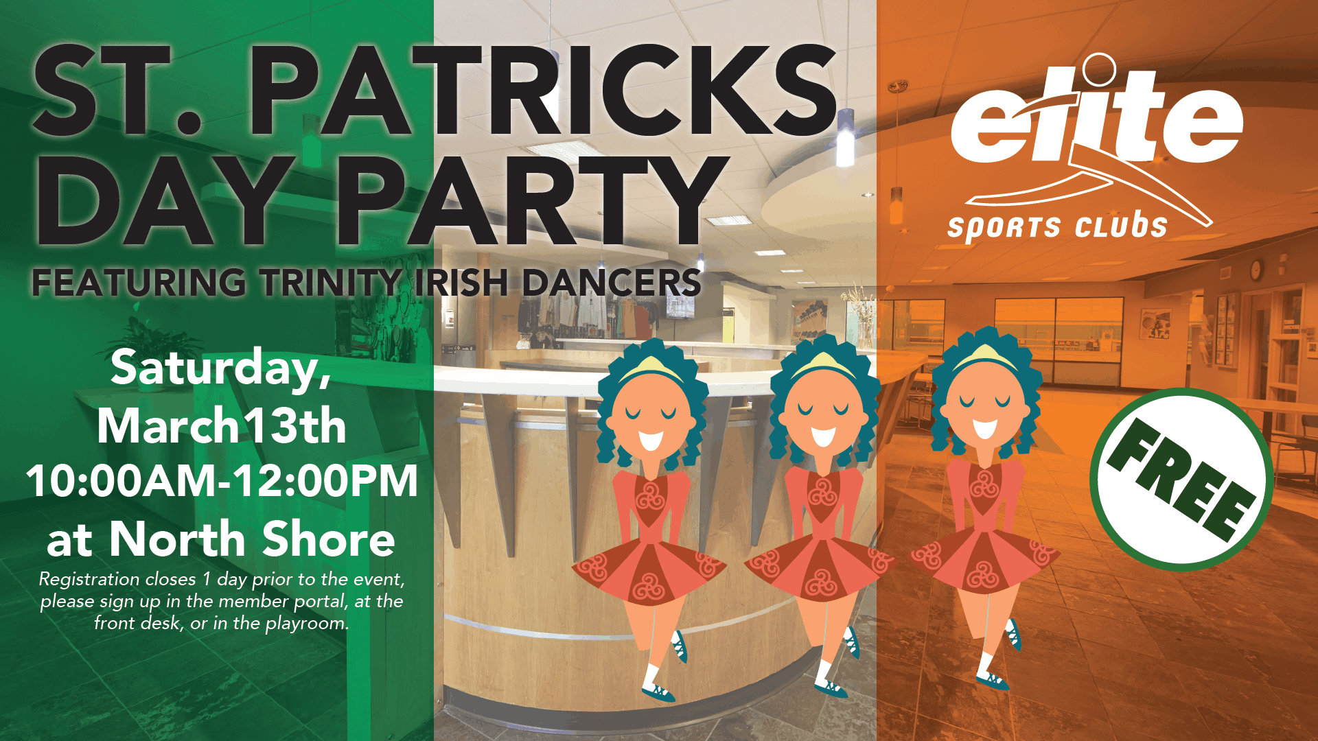 St Patricks Day Party feat Trinity Irish Dancers - Elite North Shore - March 2021