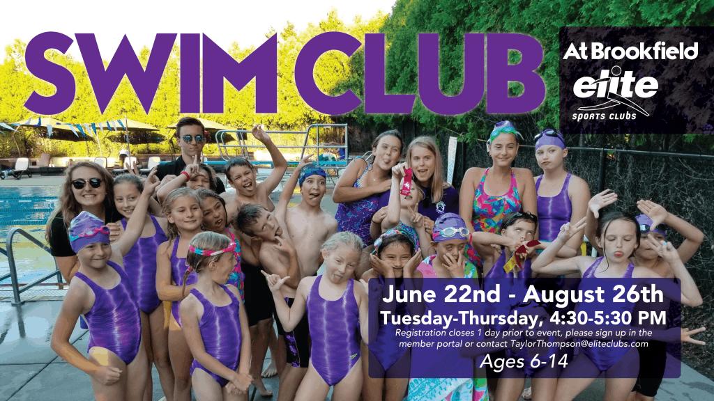 Swim Club - Elite Brookfield - Summer 2021