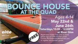 Bounce House at the Quad - Elite River Glen - Spring 2021