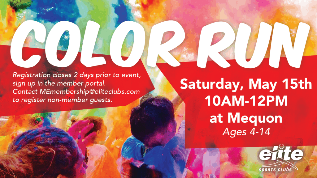 Color Run - Elite Mequon - May 2021