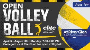 Open Volleyball - Elite River Glen - Spring Summer 2021