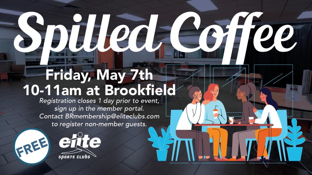 Spilled Coffee - Elite Brookfield - May 2021