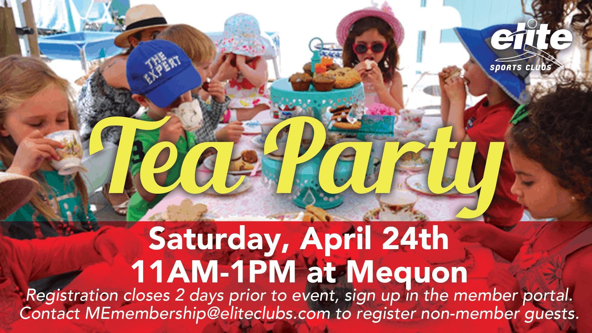 Tea Party - Elite Mequon - April 2021