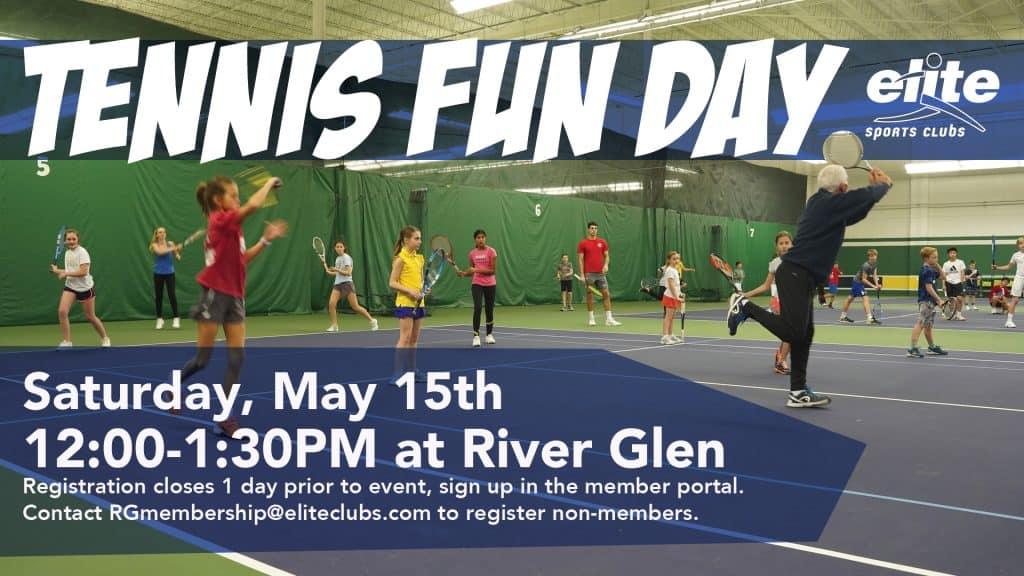 Tennis Fun Day - Elite River Glen - May 2021
