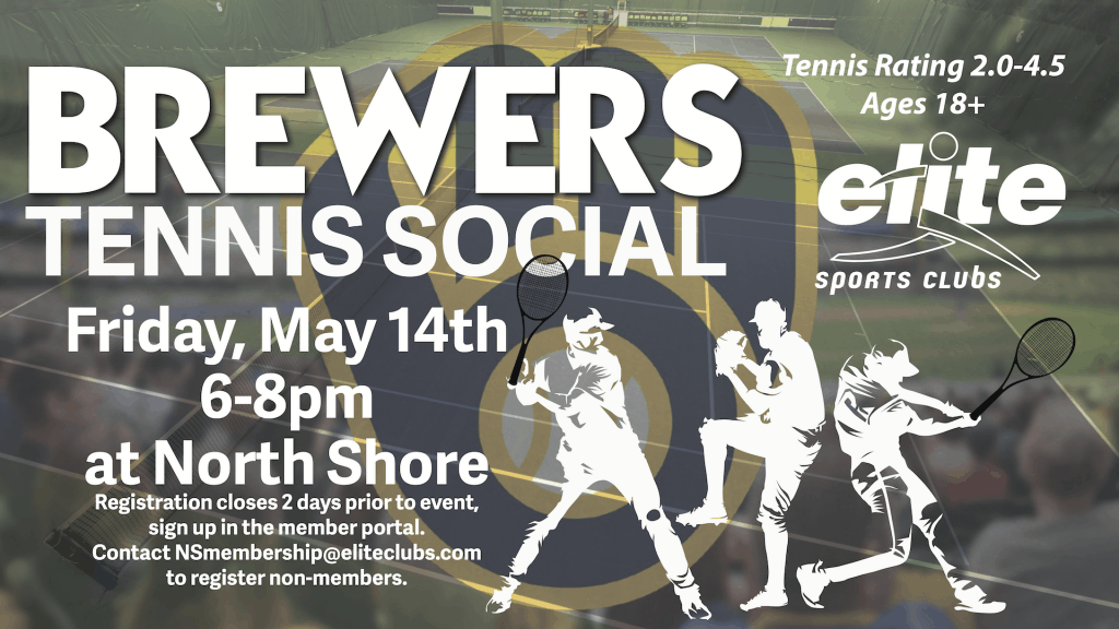 Brewers Tennis Social - Elite North Shore - May 2021