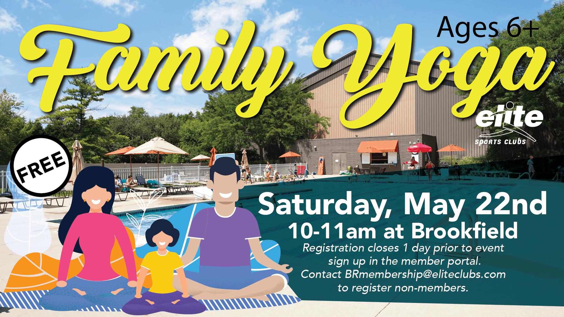 Family Yoga - Elite Brookfield - May 2021