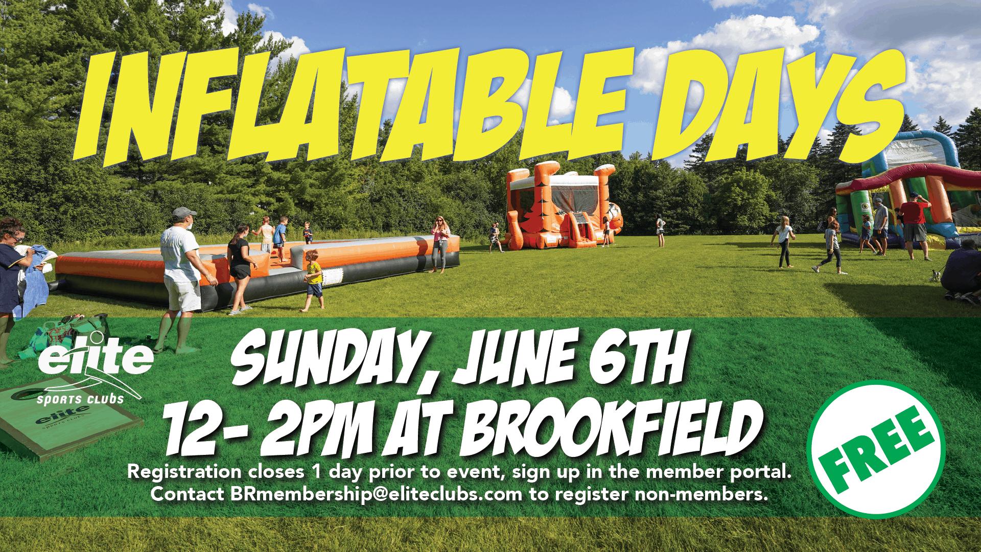 Inflatable Days - Elite Brookfield - June 2021