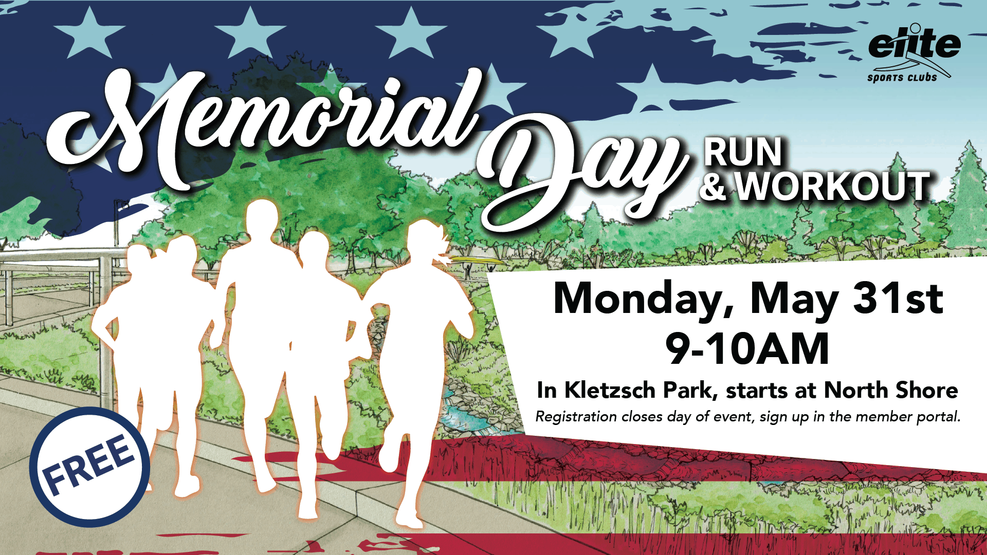 Memorial Day Run Workout - Elite North Shore - May 2021