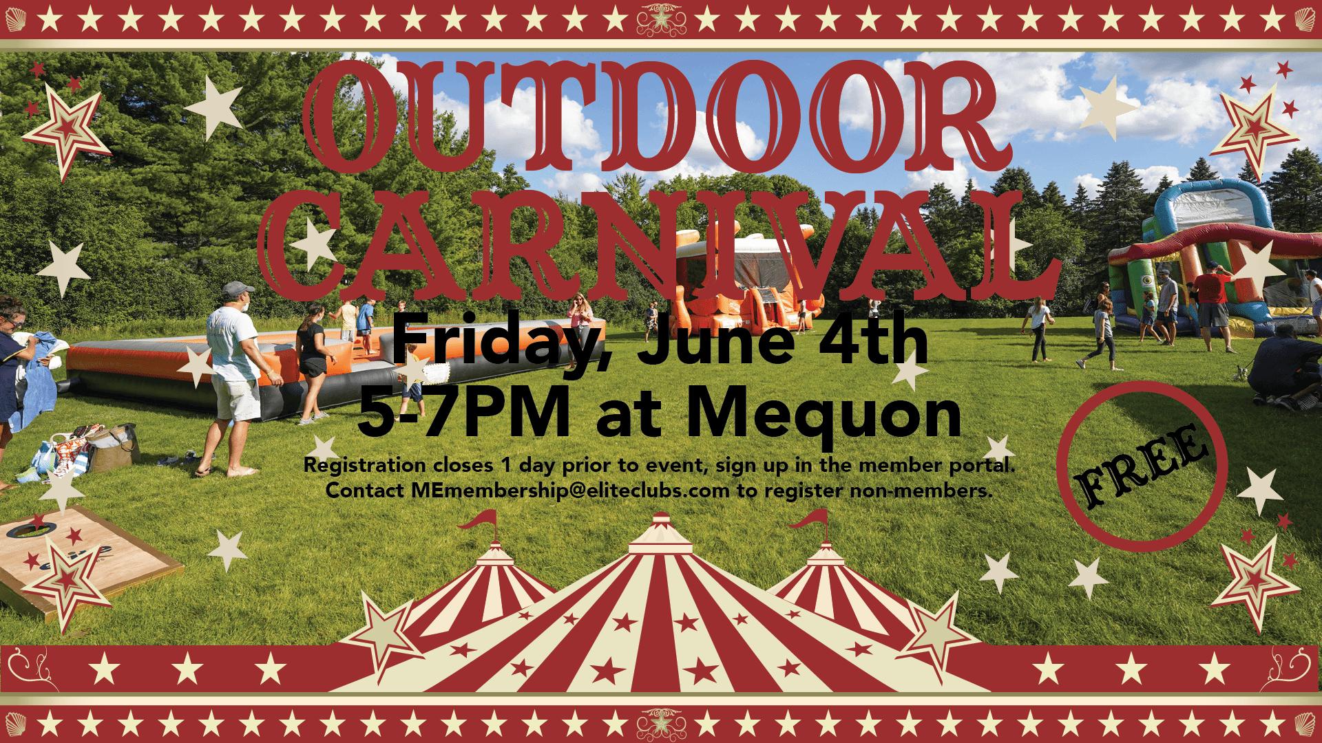 Outdoor Carnival - Elite Mequon - June 2021