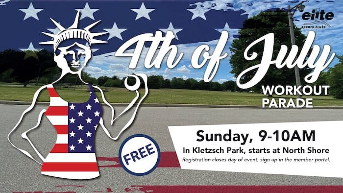 4th of July Workout Parade - Elite North Shore - July 2021