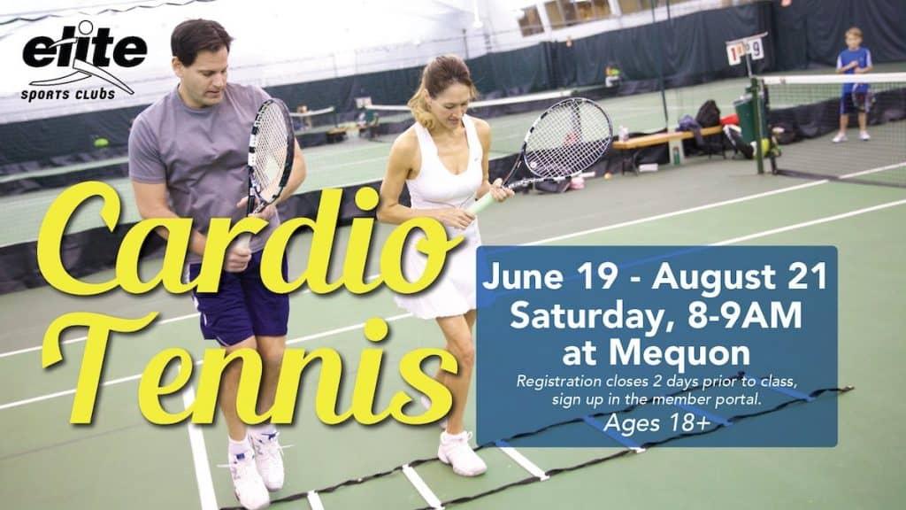 Cardio Tennis - Elite Mequon - Summer 2021