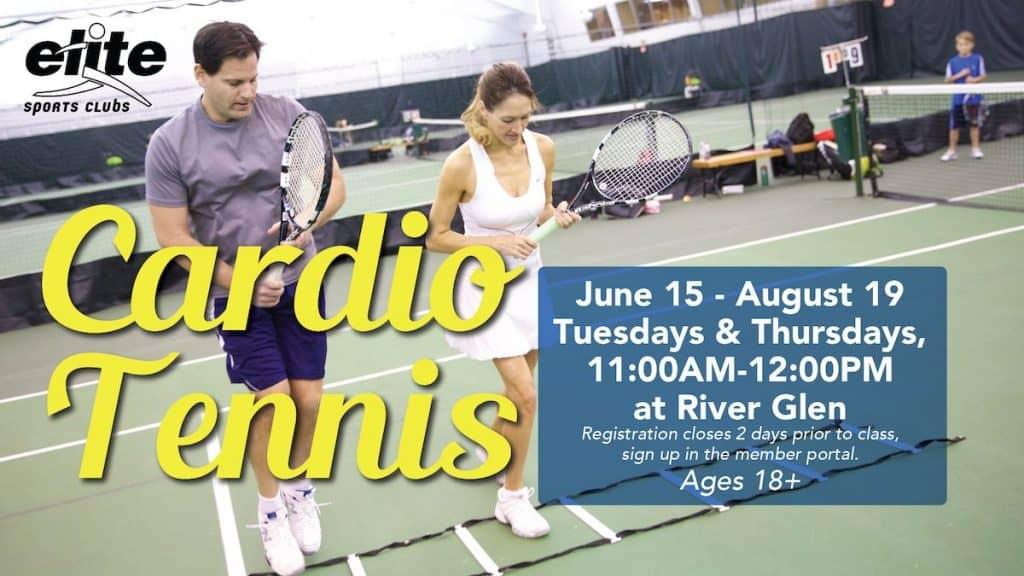 Cardio Tennis - Elite River Glen - Summer 2021