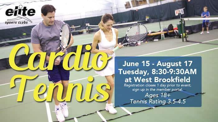 Cardio Tennis - Elite West Brookfield - Summer 2021