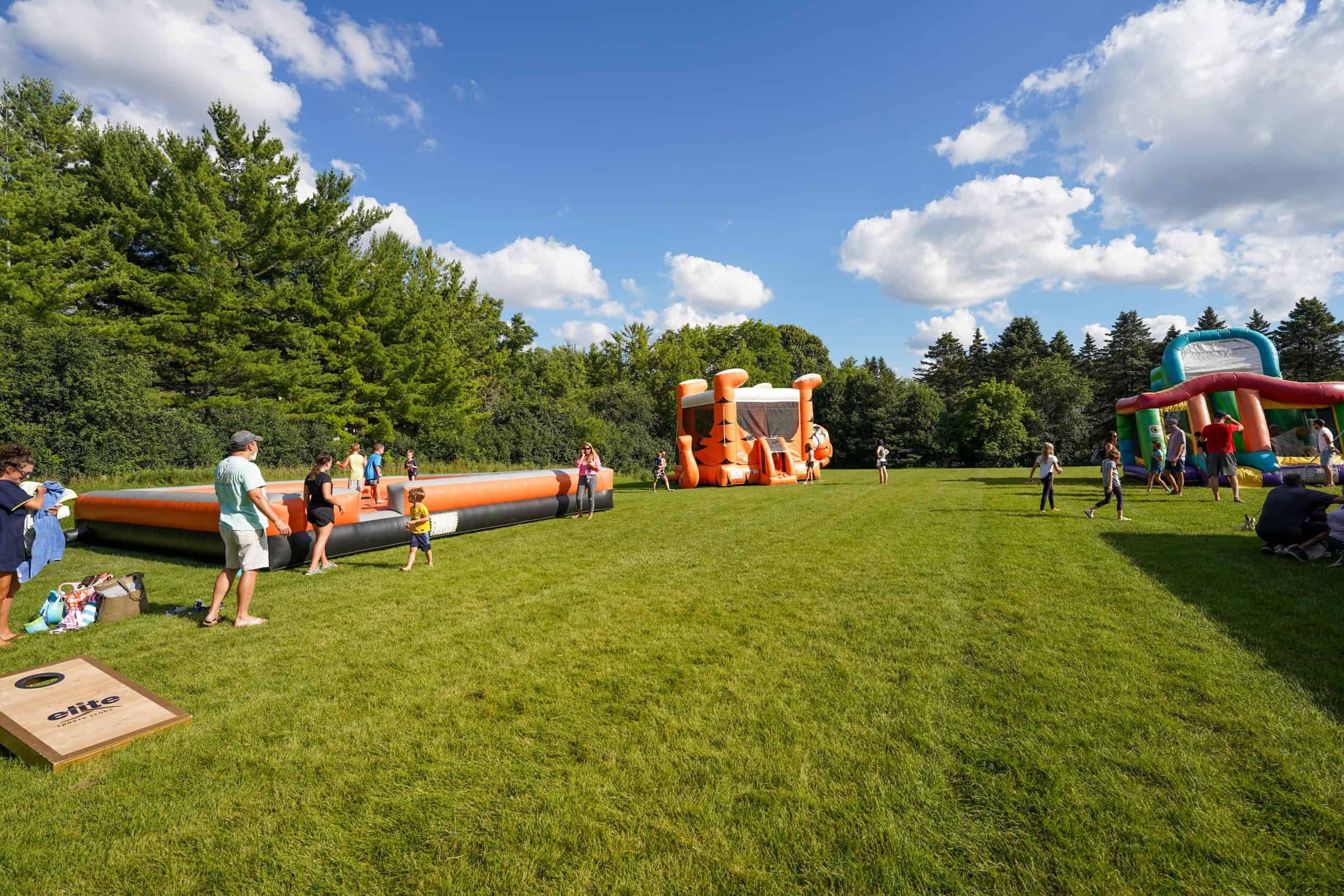 inflatables and bounce houses in Milwaukee