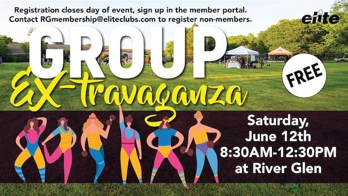 Group Ex-travaganza - Elite River Glen - June 2021