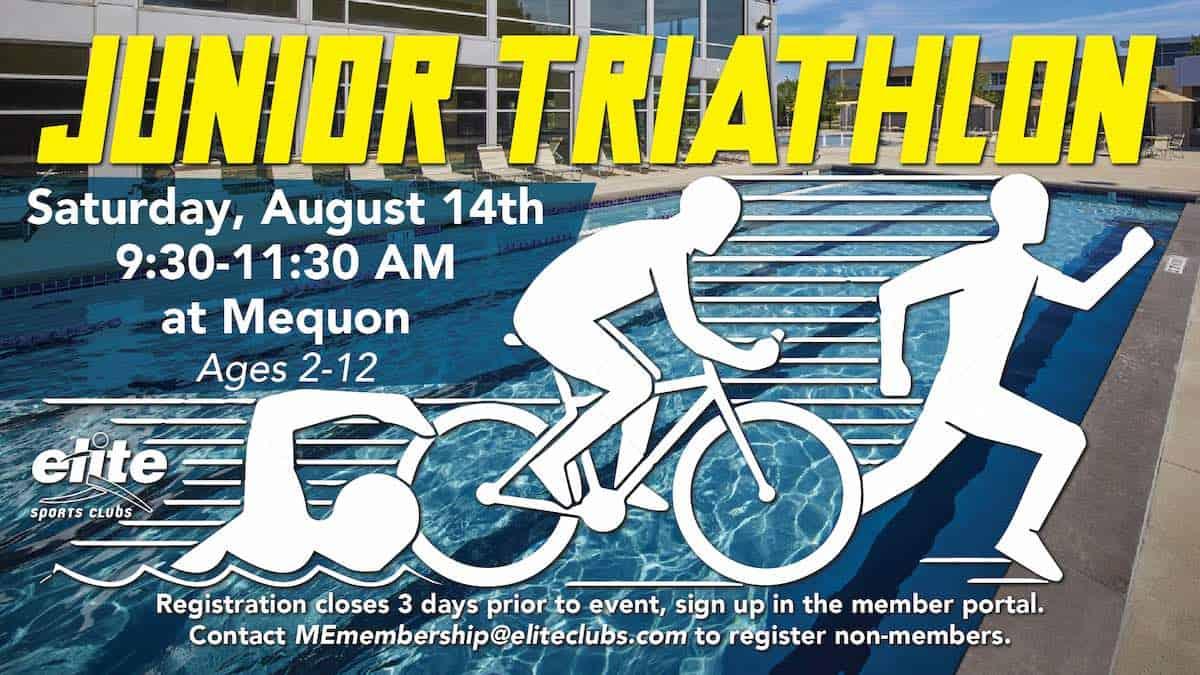 Junior Triathlon - Elite Mequon - August 2021