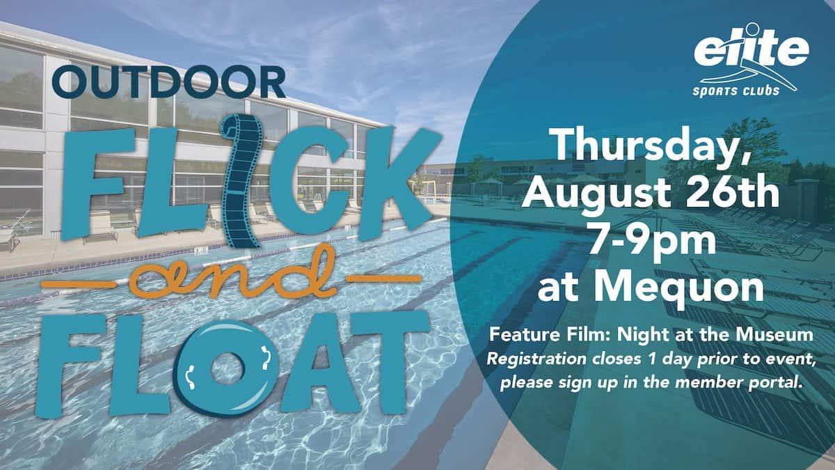 Outdoor Flick and Float - Elite Mequon - August 2021