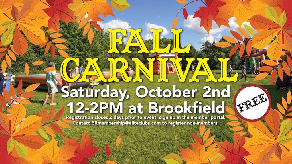 Fall Carnival - Elite Brookfield - October 2021