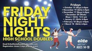Friday Night Lights High School Doubles - Elite Brookfield - 2021-2022
